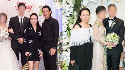 Diện đồ màu đen đi đám cưới, nhưng Phượng Chanel lại được đánh giá cao vì chi tiết này