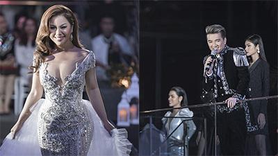 Minh Tuyết - Mr Đàm 'song kiếm hợp bích' trình diễn thời trang