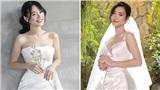 Nhiều điểm giống với váy của Nhã Phương, bảo sao nhìn váy cưới của Đông Nhi thấy cứ quen quen