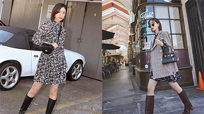 Công thức váy + boots đã thuộc hàng kinh điển, bạn không nên lơ là 3 cách diện chuẩn xinh và tôn dáng sau
