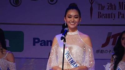 Tường San chia sẻ sau khi dừng chân tại Top 8 Miss International 2019: Buồn một chút nhưng không tiếc nuối