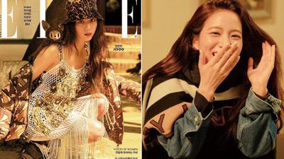 Không còn bánh bèo nhẹ nhàng, Jisoo cá tính đến ngỡ ngàng khi lên bìa tạp chí thời trang danh tiếng
