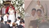 Hình ảnh hiếm hoi về cô dâu - chú rể trong đám cưới của Bảo Thy