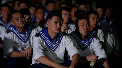 Sao nhập ngũ 2019 (Tập 4):Huy Khánh, Jun Phạm, La Thành nói gì về lần đầu xem bóng đá trong quân đội?