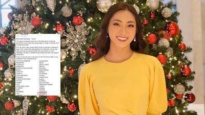 Lương Thùy Linh xuất sắc lọt Top 40 phần thi Top Model tại Miss World 2019