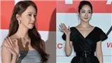 2 mỹ nhân đẹp nhất thảm đỏ AAA 2019: Park Min Young dùng tay che ngực vì sợ 'lộ hàng', Yoona chịu chi với cây đồ trị giá cả tỉ đồng
