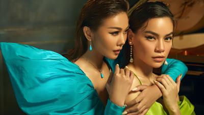 Hiếm khi cả hai 'chị đại' cùng đứng chung một khung hình, Thanh Hằng hay Hồ Ngọc Hà 'đỉnh' hơn?