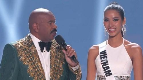 Hoàng Thùy đem ca dao tục ngữ Việt Nam lên sân khấu chung kết Miss Universe 2019