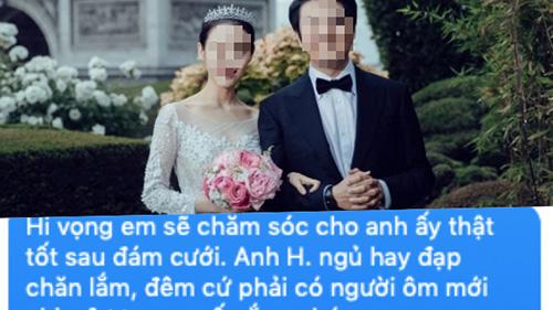 Sắp cưới thì nhận được tin nhắn 'cà khịa' từ người yêu cũ của chồng: 'Anh ấy ngủ hay đạp chăn lắm em ạ', cô dâu bình tĩnh đáp trả khiến cô ta im bặt