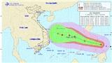 BãoPhanfone sẽ đi vào Biển Đông