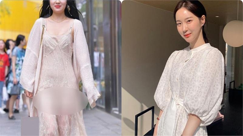 Cứ nghĩ váy áo trắng là thanh lịch duyên dáng nhất rồi, nào ngờ cũng đầy rẫy thảm họa nhé các nàng ơi!