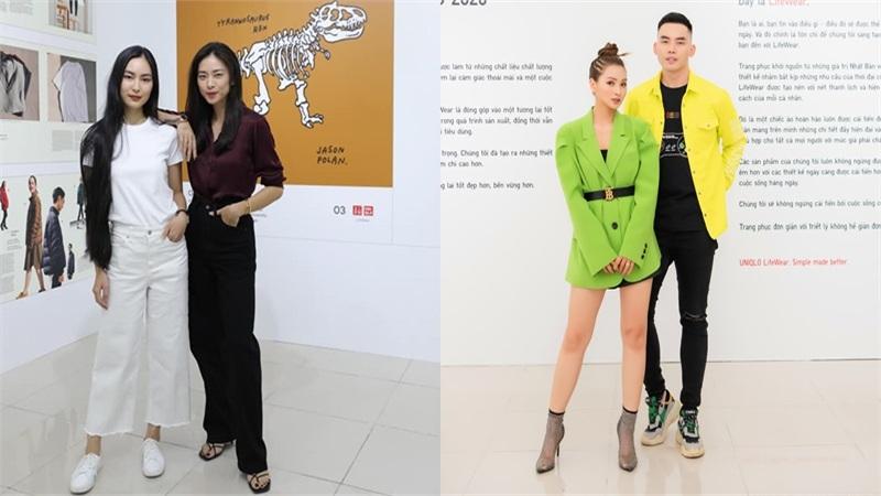 'Đả nữ' Ngô Thanh Vân tham dự triển lãm thời trang Thu Đông 2020 tại Hà Nội