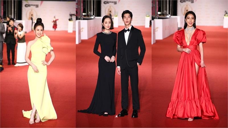 Thảm đỏ lễ trao giải Kim Chung lần thứ 55: Dàn mỹ nhân xứ Đài diện đầm quyến rũ tới mấy cũng hoàn toàn lu mời trước mỹ nam diện váy