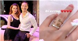 Hồ Ngọc Hà gây chú ý khi khoe nhẫn kim cương tiện thể khoe luôn 2 chiếc nhẫn với 2 chữ cái đặc biệt này