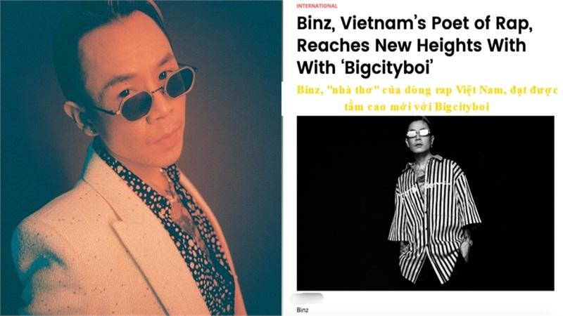 Binz là sao Việt tiếp theo xuất hiện trên tạp chí Billboard Mỹ
