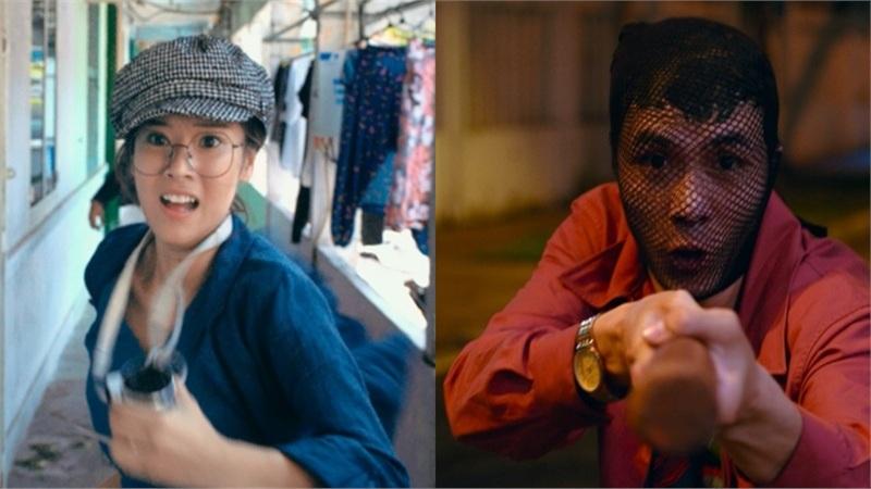 Bộ phim 'Người Cần Quên Phải Nhớ' hé lộ cảnh Hoàng Yến Chibi quật ngã 'siêu trộm' Huyme