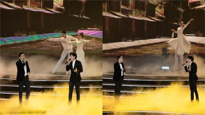 Lam Trường - Đan Trường song ca loạt hit đình đám trên sân khấu Hoa hậu Việt Nam 2020