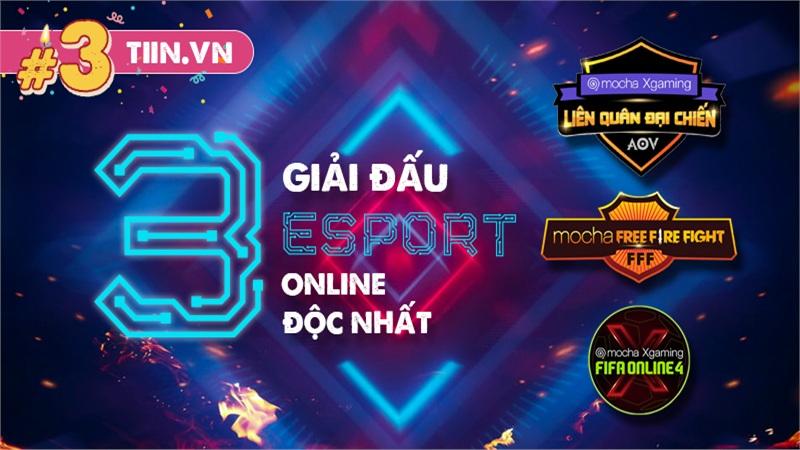 3 giải đấu Esports online gây chú ý nhất năm với thể thức độc đáo chưa từng có