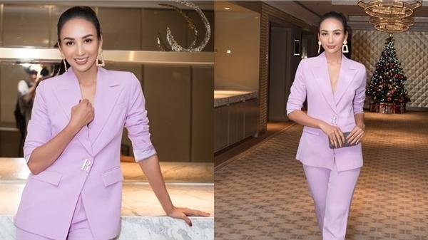 Hoa hậu Ngọc Diễm tiếp tục làm đại sứ cho hoạt động Chạy vì trái tim 2020