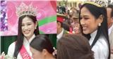 Về làng hậu đăng quang, Đỗ Thị Hà được chào đón hơn Idol Kpop