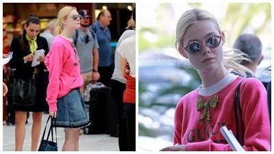 'Nàng tiên hoa' trên thảm đỏ Cannes Elly Fanning khác lạ với trang phục khỏe khoắn