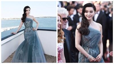 Đến ngày bế mạc LHP Cannes, Phạm Băng Băng mới thực sự 'bung lụa'