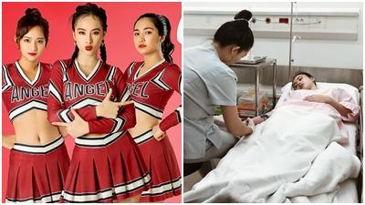 Đang bận rộn với dự án phim Glee, Angela Phương Trinh đột ngột nhập viện vì nghi sốt xuất huyết