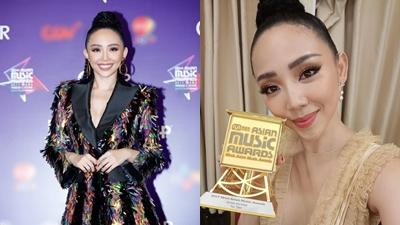 Tóc Tiên được vinh danh là Nghệ sĩ châu Á xuất sắc nhất Việt Nam tại MAMA 2017