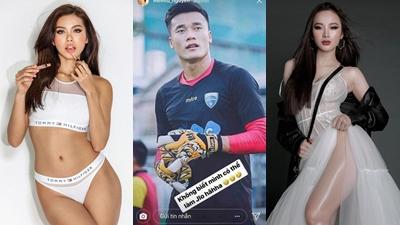 Minh Tú và Angela Phương Trinh cũng phải thổn thức vì cầu thủ U23 Việt Nam
