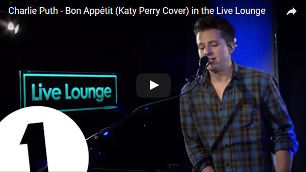 Charlie Puth hát như sắp ngừng thở khi cover hit của Katy Perry