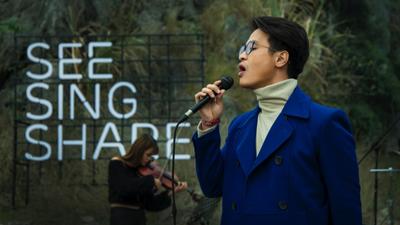 Hà Anh Tuấn khiến fan 'rùng mình' với bản mash-up mở màn 'See Sing Share 3'