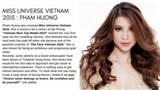 Hành trình trở thành Hoa hậu của Phạm Hương bất ngờ xuất hiện trên tạp chí Ý và Ấn Độ