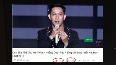 Đáp trả 'gắt' fan của EXO, tiết mục của thí sinh bị tố 'đạo nhái' tại Sing my song nhận về lượt dislike 'không tưởng'
