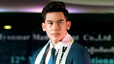 Trần Minh Trung dẫn đầu bình chọn trên web trước chung kết Mr International 2018