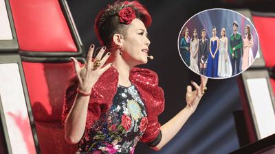 Thu Phương mất sạch thí sinh trước thềm Chung kết'Giọng hát Việt 2018'