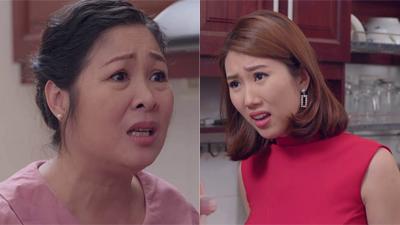 'Gạo nếp gạo tẻ' tập 57: Hân quá quắt mắng bà Mai quê mùa