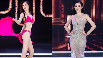 Những khoảnh khắc ấn tượng của Hoa hậu Trần Tiểu Vy trong đêm chung kết 'Hoa hậu Việt Nam 2018'