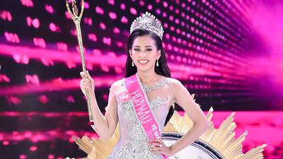 Người đẹp 18 tuổi Trần Tiểu Vy (Quảng Nam) chính thức đăng quang 'Hoa hậu Việt Nam 2018'