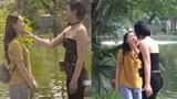 Hậu trường 'Quỳnh búp bê': Em gái Lan bị My sói đánh ghen 'sấp mặt'