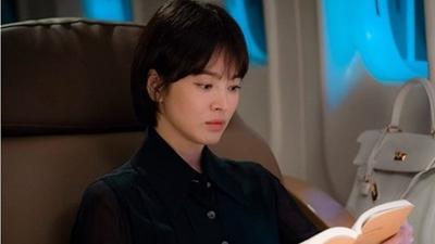 Khán giả Hàn nói gì về tạo hình u sầu của Song Hye Kyo trong phim 'Boyfriend' cùng Park Bo Gum