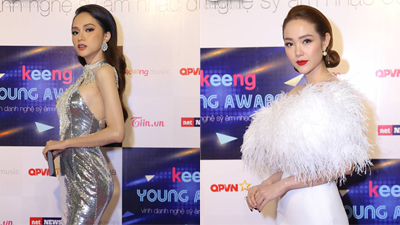 Thảm đỏ 'Keeng Young Awards 2018': Dàn sao Việt khoe sắc