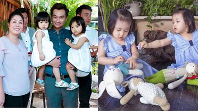 Điều thú vị chưa kể về cặp bé gái sinh đôi đáng yêu của vợ chồng Minh - Nhântrong 'Gạo nếp gạo tẻ'