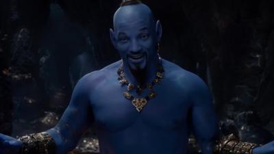 Cư dân mạng chê bai tạo hình Thần Đèn của Will Smith trong live-action 'Aladdin': Nhìn y như hàng fake!