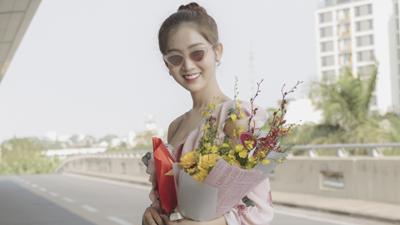 Người kế nghiệm Hương Giang lên đường sang Thái dự thi 'Miss International Queen 2019'