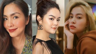 Cùng với Hà Tăng và Phạm Quỳnh Anh, còn loạt người đẹp sở hữu hàng lông mày không cần kẻ vẽ quá nhiều