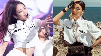 Lan Khuê, Châu Bùi, Jennie Black Pink thậm chí cả Phượng Chanel 'đại chiến' chỉ vì chiếc áo crop-top 50 triệu
