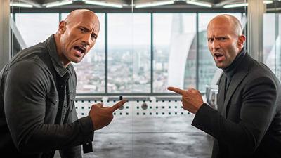 Bộ đôi thù địch The Rock và 'Người vận chuyển' Jason Statham 'song kiếm hợp bích' trong trailer mới nhất của 'Fast & Furious: Hobbs & Shaw'
