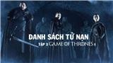 'Game of Thrones' mùa 8 tập 4: Những nhân vật tử nạn trong trận chiến thành Winterfell