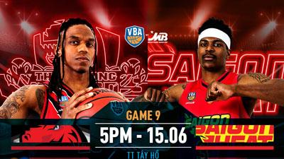 VBA 2019 game 9:Thang Long Warriors vớiSaigon Heat - Hướng đến ngôi đầu