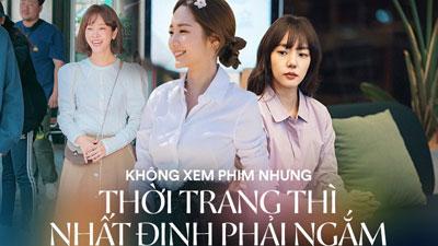 Phim Hàn gần đây có thể ảm đạm, nhưng thời trang trong đó vẫn là nguồn cảm hứng dạt dào cho chị em công sở